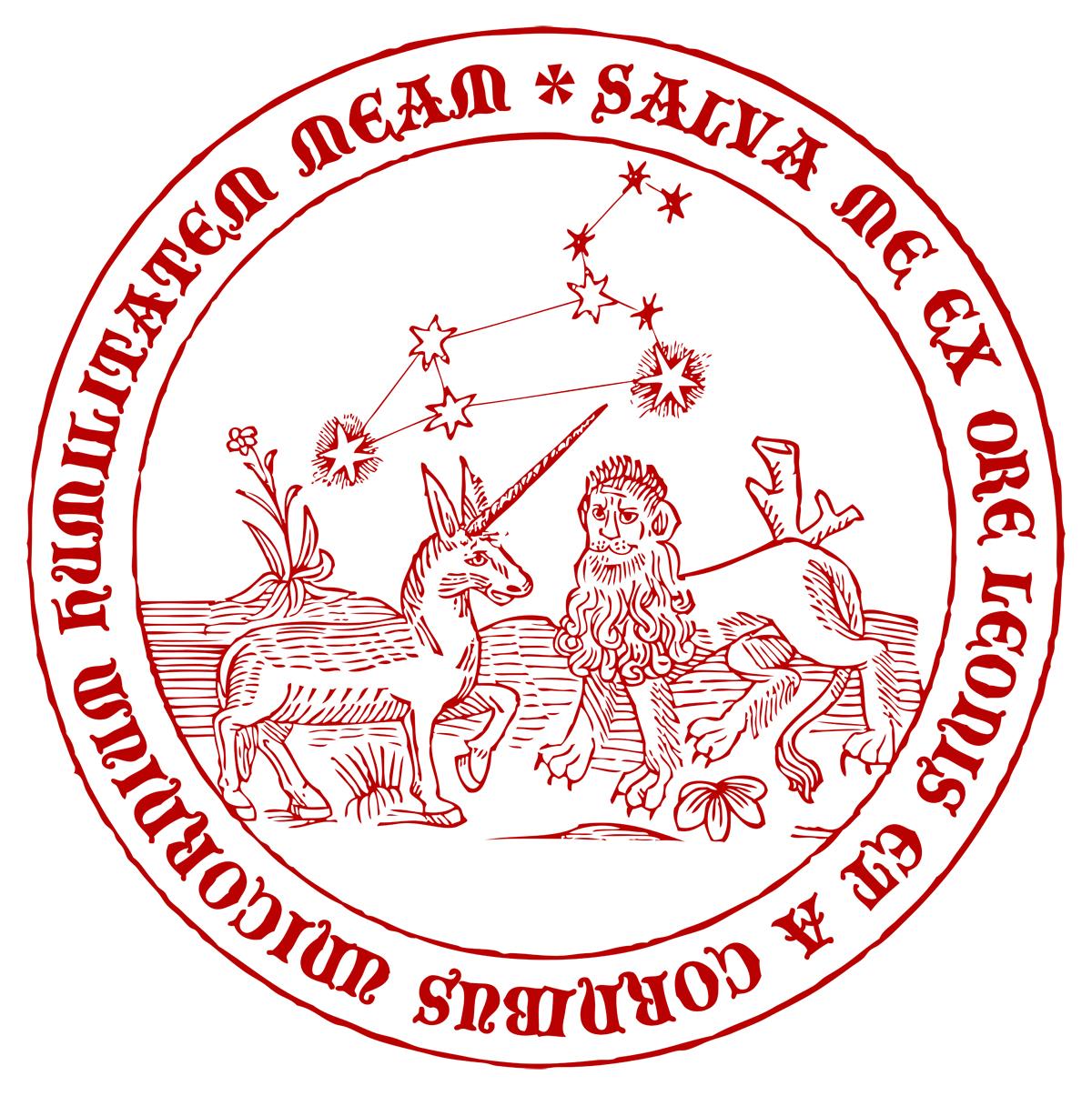 """Grafisk design, Två """"medeltida"""" emblematiska sigill"""