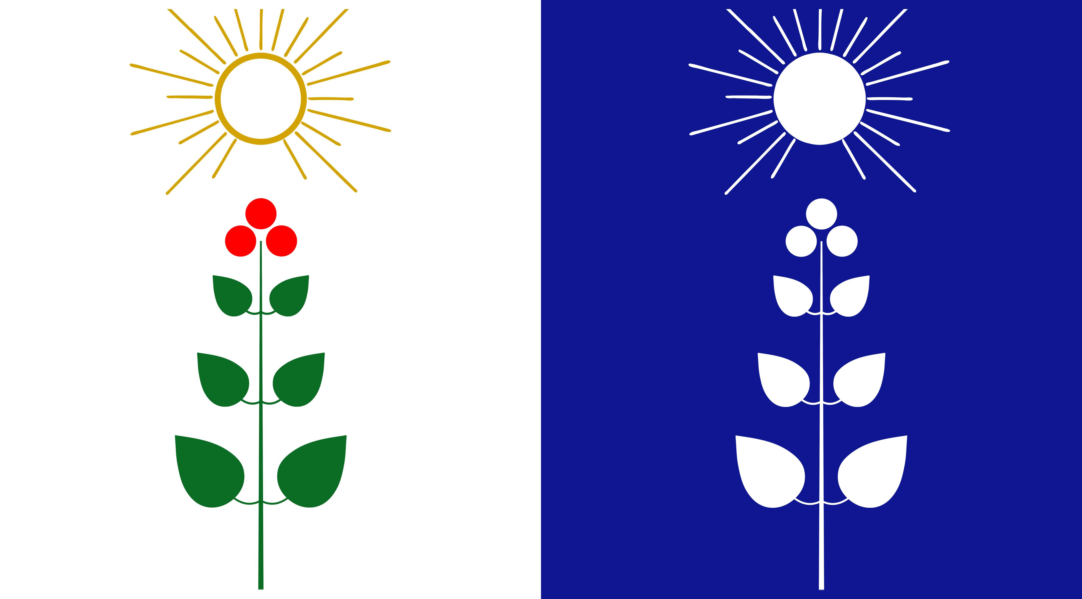 Den magiska Lingonskogens flagga!