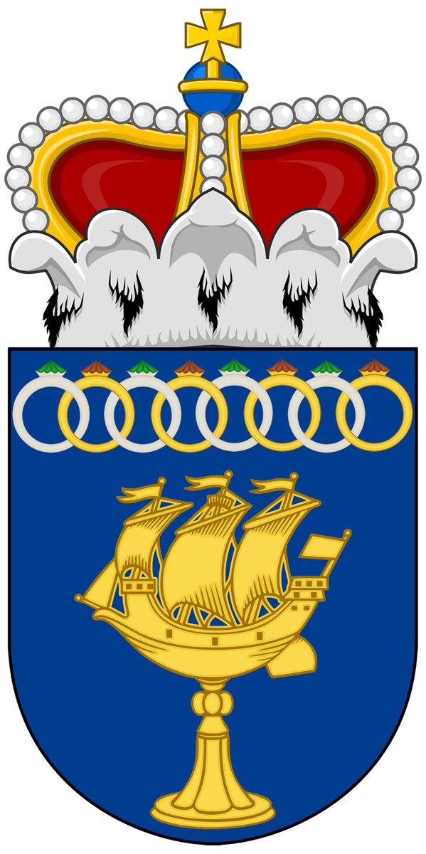 "Coat of arms for the office of ""Master/ Mistress of the Vessel"""