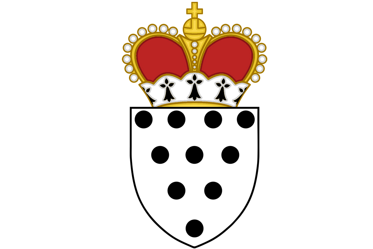 Badge (Coat of arms) for the office of Master/Mistress of the Mouche