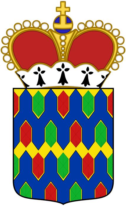 Playing the game of Heraldry: Gemmed Vairy en Pointe
