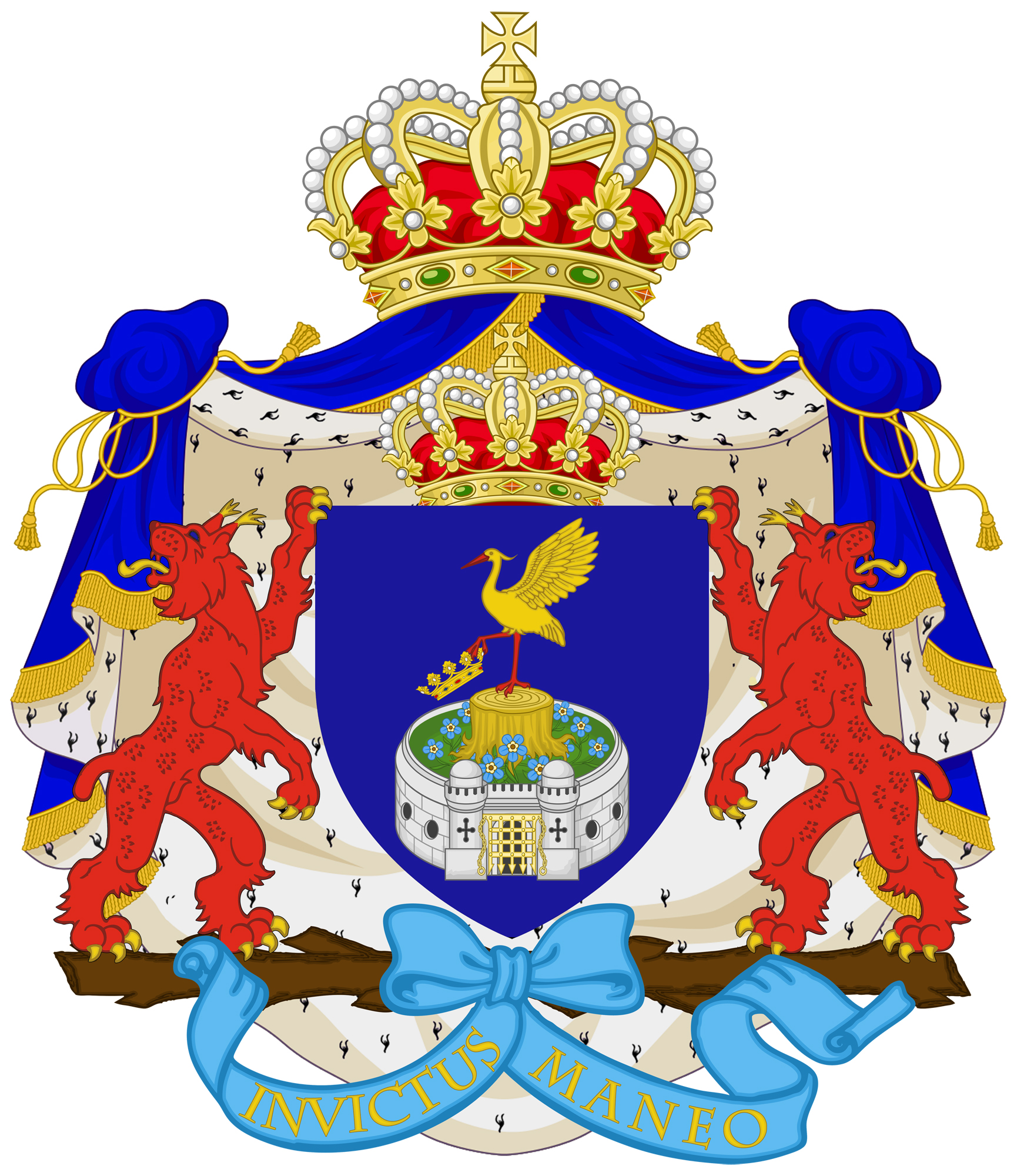 Coat of arms for the Grand Ducal family Hager of Hagersbourg