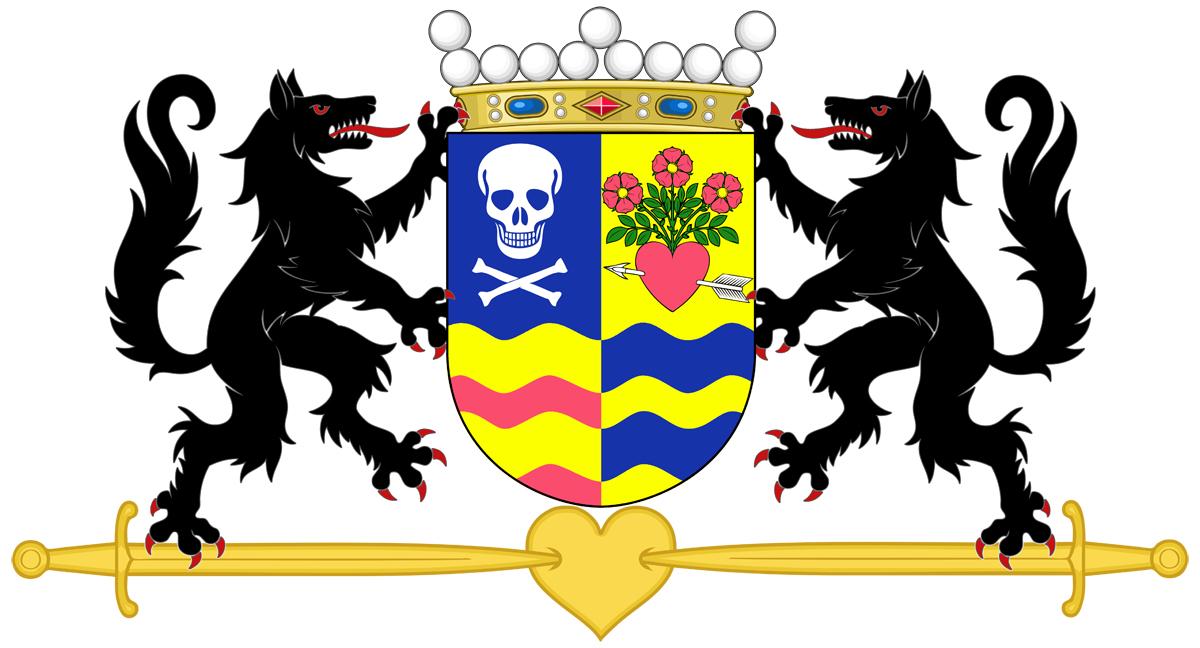 Coat of arms for Anita von Doom und Herzdämmerung