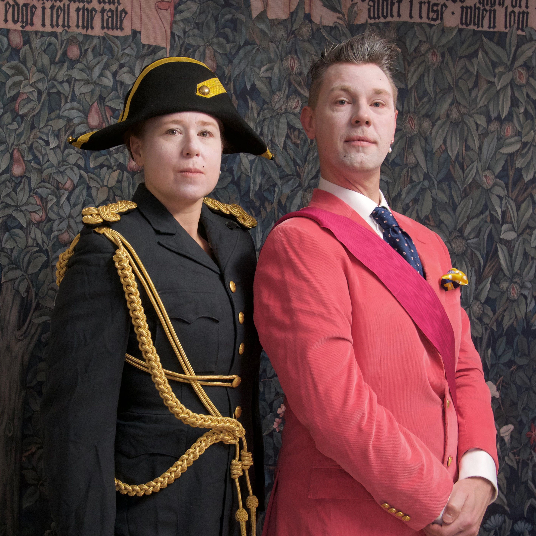 Prins Frei och Adjutant Linda Elmgren-Warberg inviger performancefestival