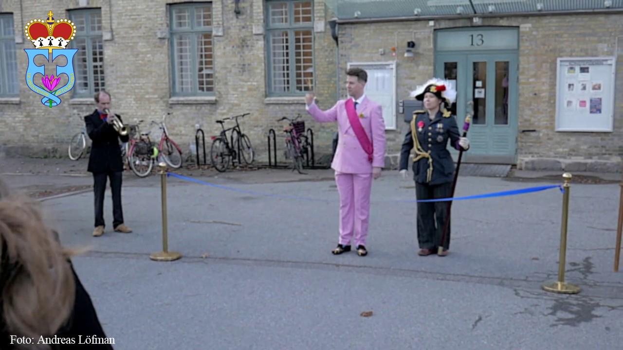 """Prins Frei inviger """"13festivalen"""" på Konstepidemin i Göteborg"""